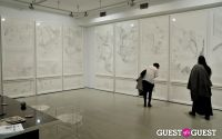 Jorinde Voigt opening reception at David Nolan Gallery #3