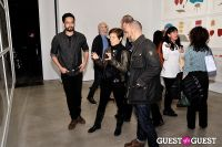 Jorinde Voigt opening reception at David Nolan Gallery #39