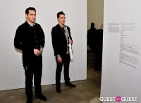 Jorinde Voigt opening reception at David Nolan Gallery #73