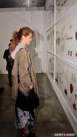 Jorinde Voigt opening reception at David Nolan Gallery #78
