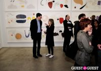 Jorinde Voigt opening reception at David Nolan Gallery #96