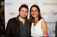 FoodToEat.com Launch Party & Toast to Action Against Hunger at STASH #132