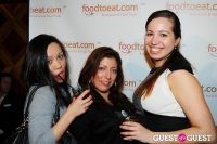 FoodToEat.com Launch Party & Toast to Action Against Hunger at STASH #134