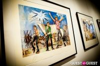"The Rolling Stones' Ronnie Wood art exhibition ""Faces, Time and Places"" at Symbolic Gallery #12"