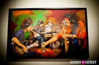 "The Rolling Stones' Ronnie Wood art exhibition ""Faces, Time and Places"" at Symbolic Gallery #14"