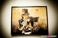 "The Rolling Stones' Ronnie Wood art exhibition ""Faces, Time and Places"" at Symbolic Gallery #15"