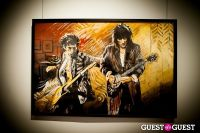 "The Rolling Stones' Ronnie Wood art exhibition ""Faces, Time and Places"" at Symbolic Gallery #16"