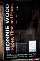 "The Rolling Stones' Ronnie Wood art exhibition ""Faces, Time and Places"" at Symbolic Gallery #22"