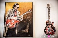 "The Rolling Stones' Ronnie Wood art exhibition ""Faces, Time and Places"" at Symbolic Gallery #26"