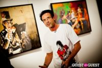 "The Rolling Stones' Ronnie Wood art exhibition ""Faces, Time and Places"" at Symbolic Gallery #30"