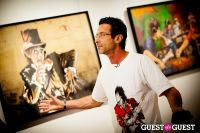 "The Rolling Stones' Ronnie Wood art exhibition ""Faces, Time and Places"" at Symbolic Gallery #31"