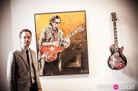 "The Rolling Stones' Ronnie Wood art exhibition ""Faces, Time and Places"" at Symbolic Gallery #50"
