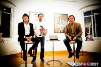 "The Rolling Stones' Ronnie Wood art exhibition ""Faces, Time and Places"" at Symbolic Gallery #52"