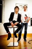 "The Rolling Stones' Ronnie Wood art exhibition ""Faces, Time and Places"" at Symbolic Gallery #57"
