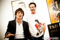 "The Rolling Stones' Ronnie Wood art exhibition ""Faces, Time and Places"" at Symbolic Gallery #60"