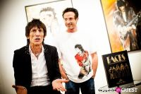 "The Rolling Stones' Ronnie Wood art exhibition ""Faces, Time and Places"" at Symbolic Gallery #61"