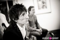 "The Rolling Stones' Ronnie Wood art exhibition ""Faces, Time and Places"" at Symbolic Gallery #64"