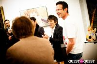 "The Rolling Stones' Ronnie Wood art exhibition ""Faces, Time and Places"" at Symbolic Gallery #69"