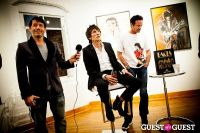 "The Rolling Stones' Ronnie Wood art exhibition ""Faces, Time and Places"" at Symbolic Gallery #77"