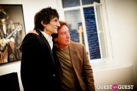 "The Rolling Stones' Ronnie Wood art exhibition ""Faces, Time and Places"" at Symbolic Gallery #79"