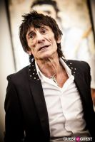 "The Rolling Stones' Ronnie Wood art exhibition ""Faces, Time and Places"" at Symbolic Gallery #87"