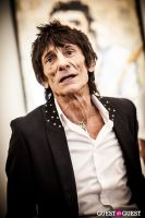"The Rolling Stones' Ronnie Wood art exhibition ""Faces, Time and Places"" at Symbolic Gallery #88"