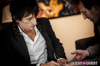 "The Rolling Stones' Ronnie Wood art exhibition ""Faces, Time and Places"" at Symbolic Gallery #90"
