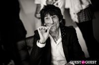 "The Rolling Stones' Ronnie Wood art exhibition ""Faces, Time and Places"" at Symbolic Gallery #91"