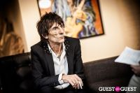 "The Rolling Stones' Ronnie Wood art exhibition ""Faces, Time and Places"" at Symbolic Gallery #95"