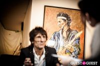 "The Rolling Stones' Ronnie Wood art exhibition ""Faces, Time and Places"" at Symbolic Gallery #97"