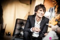 "The Rolling Stones' Ronnie Wood art exhibition ""Faces, Time and Places"" at Symbolic Gallery #100"