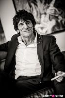 "The Rolling Stones' Ronnie Wood art exhibition ""Faces, Time and Places"" at Symbolic Gallery #114"
