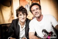 "The Rolling Stones' Ronnie Wood art exhibition ""Faces, Time and Places"" at Symbolic Gallery #117"