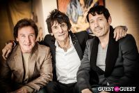 "The Rolling Stones' Ronnie Wood art exhibition ""Faces, Time and Places"" at Symbolic Gallery #120"