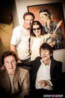 "The Rolling Stones' Ronnie Wood art exhibition ""Faces, Time and Places"" at Symbolic Gallery #122"