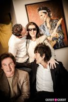 "The Rolling Stones' Ronnie Wood art exhibition ""Faces, Time and Places"" at Symbolic Gallery #124"