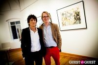 "The Rolling Stones' Ronnie Wood art exhibition ""Faces, Time and Places"" at Symbolic Gallery #136"