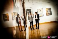 "The Rolling Stones' Ronnie Wood art exhibition ""Faces, Time and Places"" at Symbolic Gallery #142"