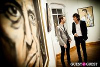 "The Rolling Stones' Ronnie Wood art exhibition ""Faces, Time and Places"" at Symbolic Gallery #143"