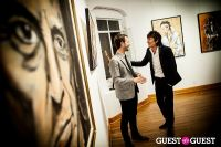 "The Rolling Stones' Ronnie Wood art exhibition ""Faces, Time and Places"" at Symbolic Gallery #145"