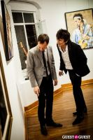 "The Rolling Stones' Ronnie Wood art exhibition ""Faces, Time and Places"" at Symbolic Gallery #146"