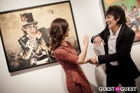 "The Rolling Stones' Ronnie Wood art exhibition ""Faces, Time and Places"" at Symbolic Gallery #153"