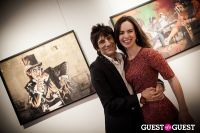 "The Rolling Stones' Ronnie Wood art exhibition ""Faces, Time and Places"" at Symbolic Gallery #154"