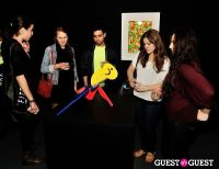 Ryan McGinness - Women: Blacklight Paintings and Sculptures Exhibition Opening #5