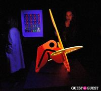 Ryan McGinness - Women: Blacklight Paintings and Sculptures Exhibition Opening #7