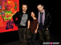 Ryan McGinness - Women: Blacklight Paintings and Sculptures Exhibition Opening #19