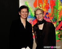 Ryan McGinness - Women: Blacklight Paintings and Sculptures Exhibition Opening #27