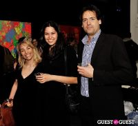 Ryan McGinness - Women: Blacklight Paintings and Sculptures Exhibition Opening #34