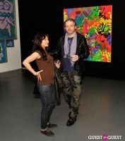 Ryan McGinness - Women: Blacklight Paintings and Sculptures Exhibition Opening #44