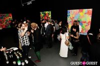 Ryan McGinness - Women: Blacklight Paintings and Sculptures Exhibition Opening #75